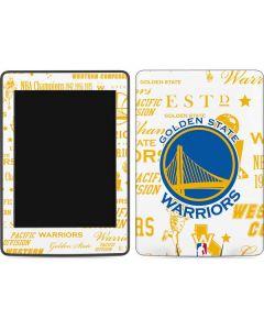 Golden State Warriors Historic Blast Amazon Kindle Skin