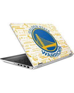 Golden State Warriors Historic Blast HP Pavilion Skin