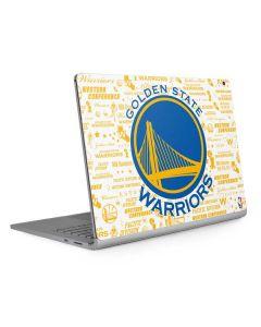 Golden State Warriors Historic Blast Surface Book 2 13.5in Skin