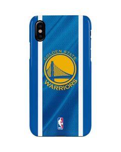 Golden State Warriors Jersey iPhone XS Max Lite Case
