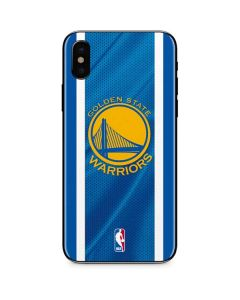 Golden State Warriors Jersey iPhone XS Max Skin