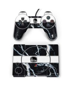 Golden State Warriors Marble PlayStation Classic Bundle Skin