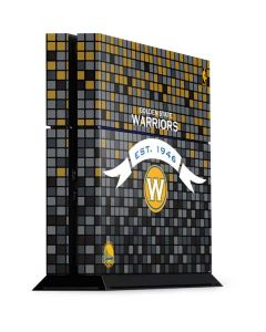 Golden State Warriors Pixels PS4 Console Skin