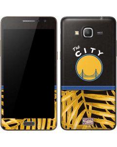 Golden State Warriors Retro Palms Galaxy Grand Prime Skin