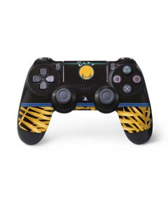 Golden State Warriors Retro Palms PS4 Pro/Slim Controller Skin