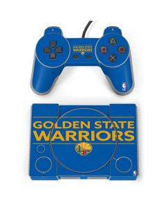 Golden State Warriors Standard - Blue PlayStation Classic Bundle Skin