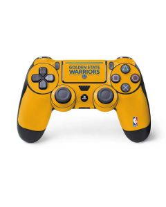 Golden State Warriors Standard - Yellow PS4 Pro/Slim Controller Skin