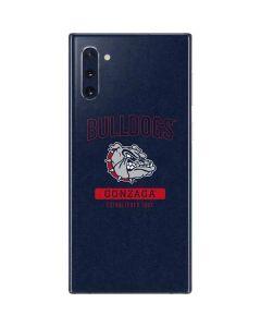 Gonzaga Bulldogs Established 1887 Galaxy Note 10 Skin