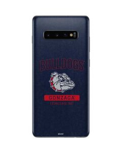 Gonzaga Bulldogs Established 1887 Galaxy S10 Plus Skin