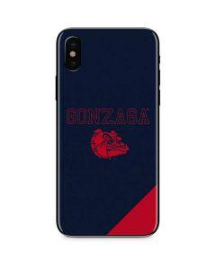 Gonzaga Bulldogs Logo iPhone XS Skin