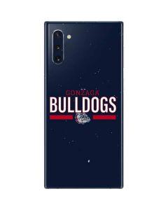 Gonzaga Bulldogs Stripe Galaxy Note 10 Skin