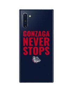 Gonzaga Never Stops Galaxy Note 10 Skin