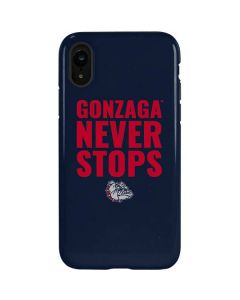 Gonzaga Never Stops iPhone XR Pro Case