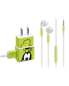 Goofy Up Close Phone Charger Skin
