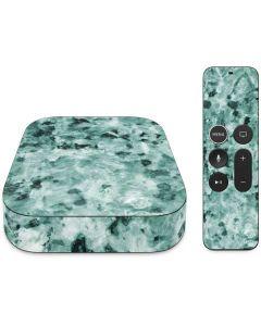 Graphite Turquoise Apple TV Skin