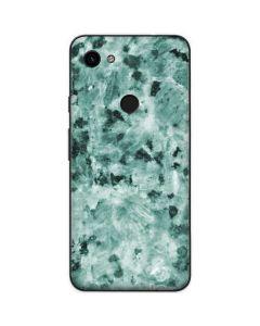 Graphite Turquoise Google Pixel 3a Skin