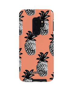 Gray Scale Pineapple Galaxy S9 Plus Pro Case