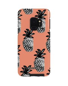 Gray Scale Pineapple Galaxy S9 Pro Case