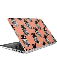 Gray Scale Pineapple HP Pavilion Skin