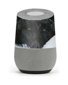 Gray Wolf Resting In Deep Snow Google Home Skin