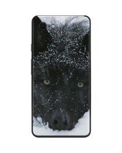 Gray Wolf Resting In Deep Snow Google Pixel 3 XL Skin