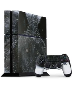 Gray Wolf Resting In Deep Snow PS4 Console and Controller Bundle Skin