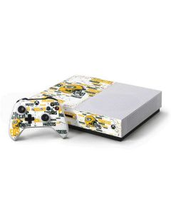 Green Bay Packers - Blast Xbox One S Console and Controller Bundle Skin