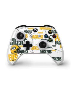 Green Bay Packers - Blast Xbox One S Controller Skin