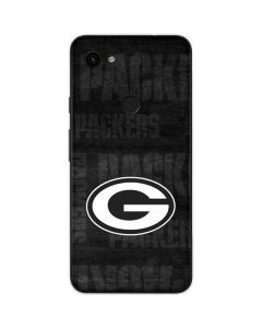 Green Bay Packers Black & White Google Pixel 3a Skin