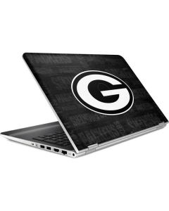 Green Bay Packers Black & White HP Pavilion Skin