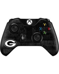 Green Bay Packers Black & White Xbox One Controller Skin