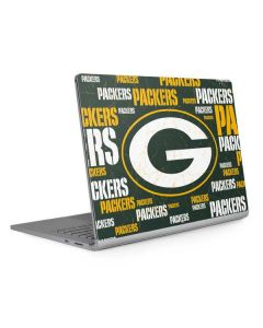 Green Bay Packers Blast Surface Book 2 13.5in Skin