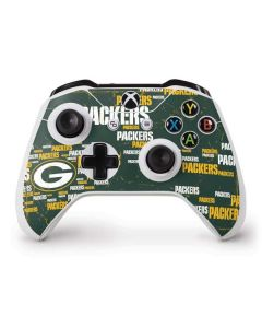 Green Bay Packers Blast Xbox One S Controller Skin