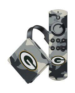 Green Bay Packers Camo Amazon Fire TV Skin