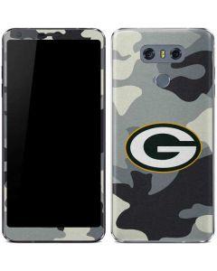 Green Bay Packers Camo LG G6 Skin