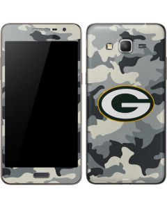 Green Bay Packers Camo Galaxy Grand Prime Skin