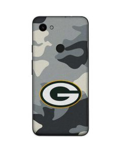 Green Bay Packers Camo Google Pixel 3a Skin