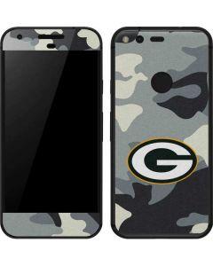 Green Bay Packers Camo Google Pixel Skin