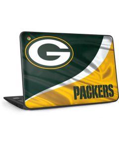 Green Bay Packers HP Chromebook Skin