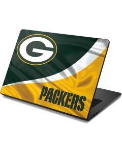 Green Bay Packers Dell Chromebook Skin
