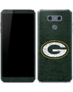 Green Bay Packers Distressed LG G6 Skin