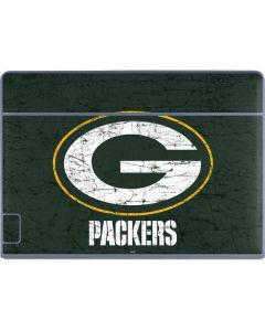 Green Bay Packers Distressed Galaxy Book Keyboard Folio 12in Skin
