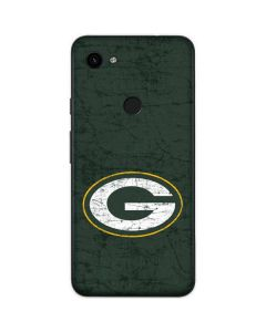 Green Bay Packers Distressed Google Pixel 3a Skin
