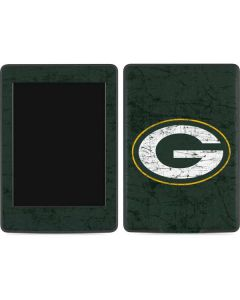 Green Bay Packers Distressed Amazon Kindle Skin