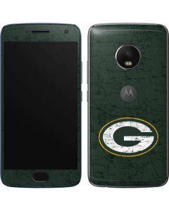 Green Bay Packers Distressed Moto G5 Plus Skin
