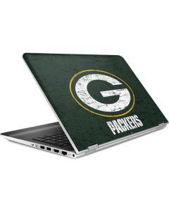Green Bay Packers Distressed HP Pavilion Skin