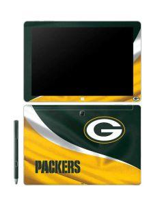 Green Bay Packers Galaxy Book 12in Skin