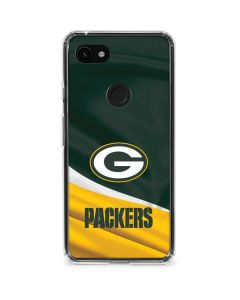 Green Bay Packers Google Pixel 3a Clear Case