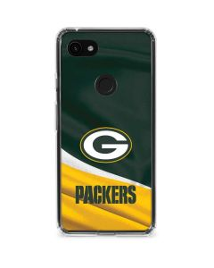Green Bay Packers Google Pixel 3a XL Clear Case