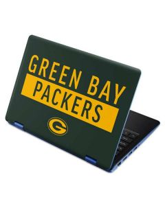 Green Bay Packers Green Performance Series Aspire R11 11.6in Skin